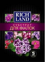 Субстрат   ТМ  Rich Land для фиалки , 5 л