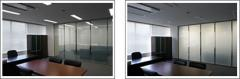 Умное стекло, стекло с переключаемой прозрачностью