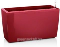 Вазон Lechuza Cararo, 75x30x43 см, красный глянец