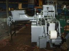 The automatic machine for packing of butter,