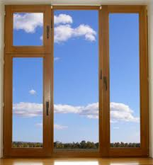 Windows from warm and cold aluminum
