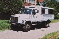 Mobile electrotechnical laboratory ETL-35