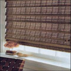 Roleta is bamboo. Bamboo rolleta, Crimea