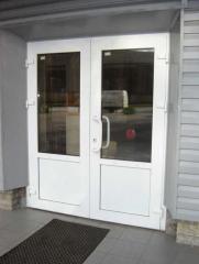 Двери из алюминиевого профиля. Крым. Окна и двери