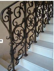 Лестницы и ограды кованые