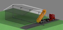 Цепной транспортер с обратным ходом