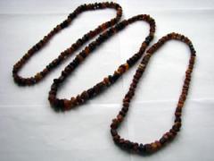 Unpolished beads