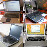 Laptops and netbooks new and second-hand in