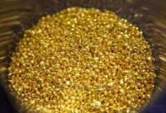 Золото 999, 9 гранулы