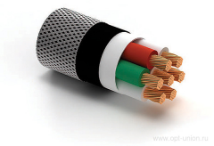 Cables for transfer of electric signals small