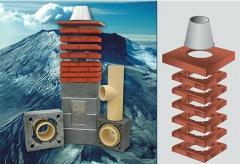 Дымоход керамический Icopal Wulkan CI 250 мм