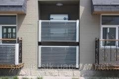 Vacuum solar collector of balcony type of 14 pipes