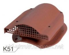 Вентилятор подкровельного пространства K51 Wirplast Rolling для металлочерепицы