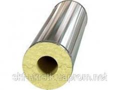 The basalt cylinder for pipes in a galvanized