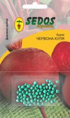 Beet Red Sphere (100 drazhirovanny seeds)