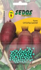 Beet Opolskaya (100 drazhirovanny seeds)