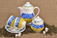 """Сервиз чайный """"Украина"""", на 6 персон"""