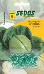 Cabbage Gold Hectare (100 drazhirovanny seeds)