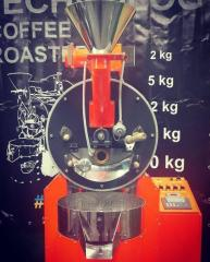 Roaster for roasting of coffee loading of 5 kg
