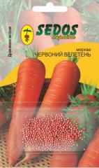 Carrots Red giant (400 drazhirovanny seeds)