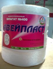 Polypropylene package thread