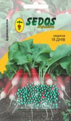 Garden radish of 18 days (100 drazhirovanny seeds)