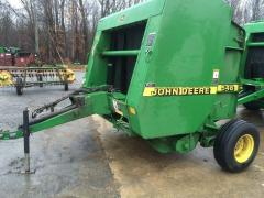 Rolled press sorter of John Deere 546