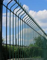 Панельный забор 3D «Диамант»