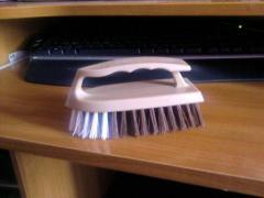 Brush iron.