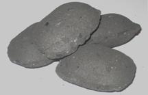 Charcoal briquettes of 10 kg