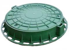 Polymeric manholes