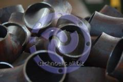 Branches krutoizognuty seamless welded of the
