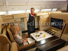 Onboard food of V.I.P. class from the Kiev