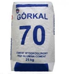 Вогнетривкий цемент GORKAL 70