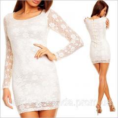 Вечернее белое платье Valeria
