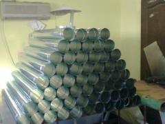 Труба оцинкованная вентиляционная диаметр 150
