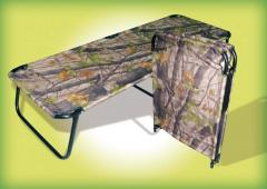 Folding bed camouflage