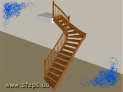 Дерев'яні Сходи - Г-подібні
