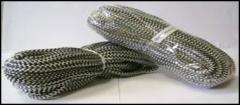 Шнур канат полиэстерный рыбацкий для насадки сетей