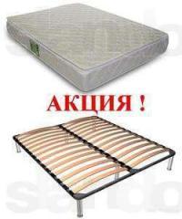 Каркас-кровать и матрас