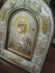 Икона Богородица Семистрельная, Артикул Ма/Е-АХ-К,