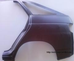 Крыло заднее левое Т ВАЗ 2112