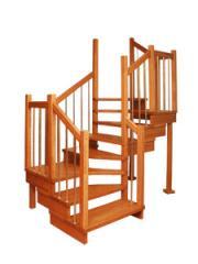 Лестница Эквилайн с двумя поворотами
