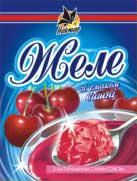 Jelly with taste of cherry (90 g)