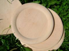 Посуда столовая из дерева
