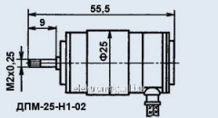 Электродвигатель ДПМ-25-Н1-02