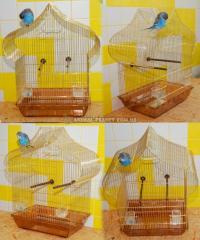 Клетка для мелких попугаев №12