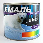 PF-266 enamel, PF-115 enamel, paints and