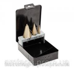 Stepped drill set