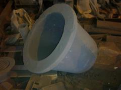溶融金属の鋳造用ルツボ